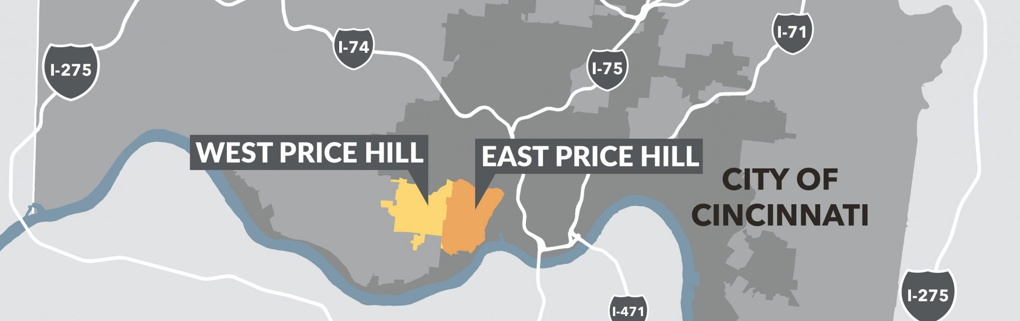 Context Map Price Hill01 Greater Cincinnati Redevelopment Authority