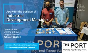 Social Media Graphic - The Port Industrial Development Manager
